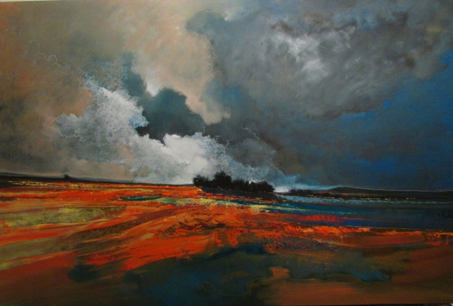Part of the Landscapes of my mind exhibition at Art Eye Gallery 11 June 2014
