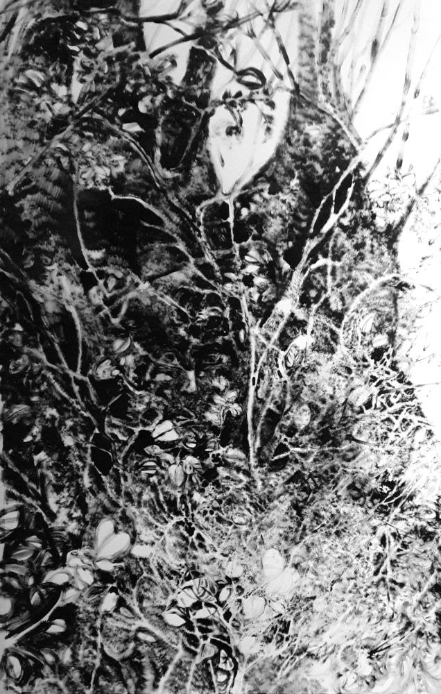 Genesis - Ink on Fabriano - 70cm x 100cm